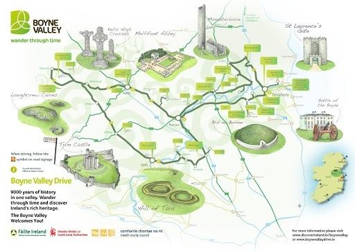boyne valley map